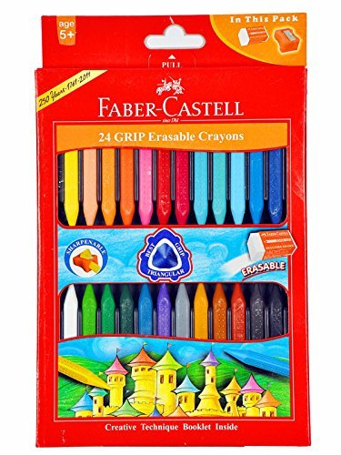 Faber-castell Early Age Moulded Erasable Grasp Crayons for sale  Delivered anywhere in USA