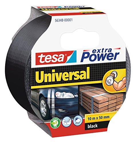 tesa Reparaturband extra Power, schwarz, 10m x 50mm