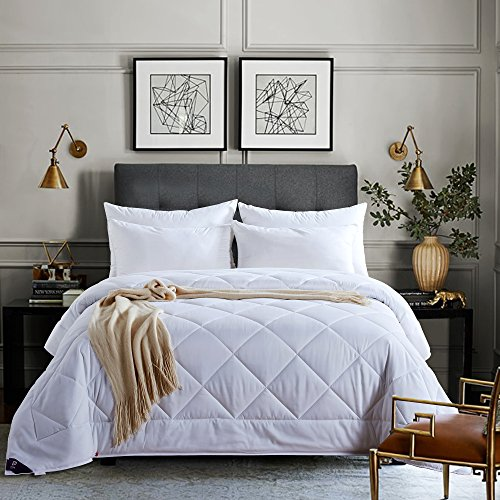 price tracking for newlake queen full size white down alternative comforter duvet insert nl cm. Black Bedroom Furniture Sets. Home Design Ideas