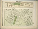 Historic 1873 Map | Middle Village. Tn. of Newtown, Queens Co. - Part of Astoria. L | Antique Vintage Map Reproduction