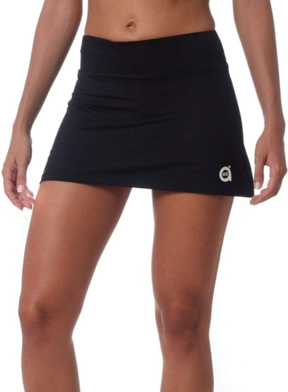 a40grados Sport & Style, Falda Fussion Negra, Mujer, Tenis y Padel ...