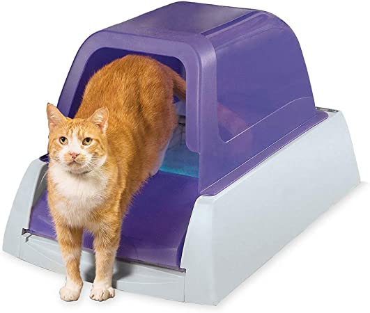 Works with ScoopFree 2nd Generation and Smart Litter Boxes ScoopFree Self-Cleaning Litter Box Privacy Hood