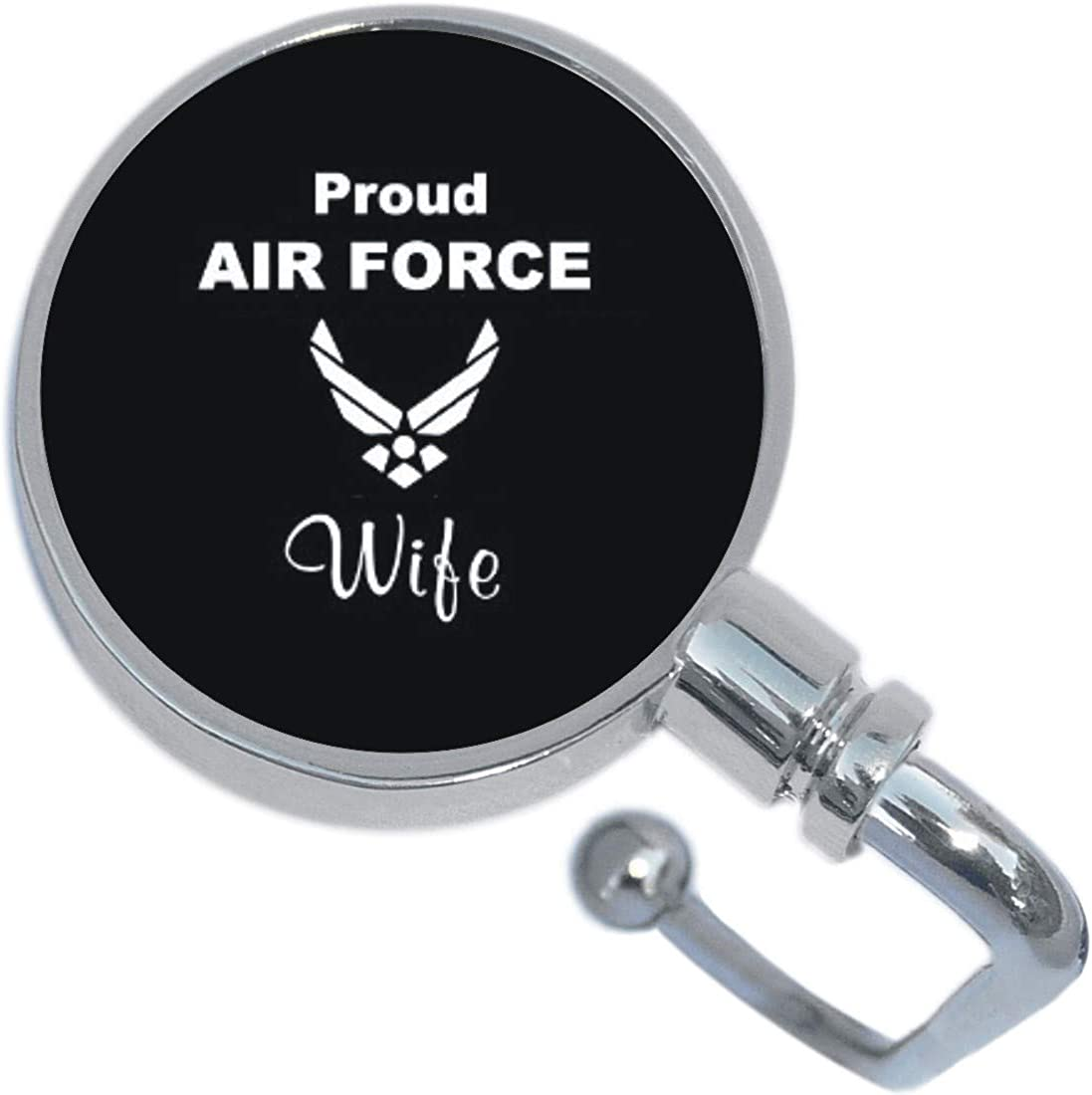 Proud Air Force Wife Purse Hanger