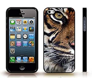 iStar Cases? iPhone 4 Case with Eye of the Tiger, Photo, Close-up , Snap-on Cover, Hard Carrying Case (Black)