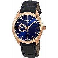 T101.452.36.041.00 Men's Watch PR 100 Gent Dualtime Blue 39mm Stainless Steel