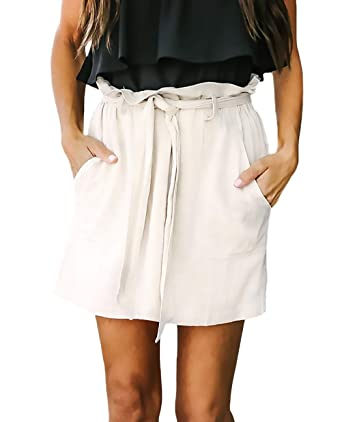 Laisla fashion Faldas Mujer Otoño Casual Bandage Elegante Tallas ...