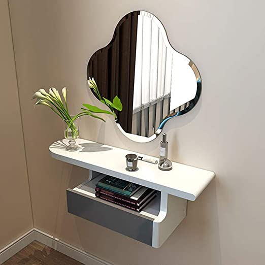 Amazon.com: Floating Shelf Bedside Dressing Table Wall Mount ...