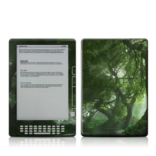MyGift Canopy Creek Spring Design Protective Decal Skin Sticker for Amazon Kindle DX 9.7 inch E-Book Reader