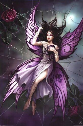 Anne Stokes Silk Lure Art Print Poster