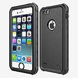 Best Waterproof iPhone 5 Cases - Waterproof Case Compatible iPhone SE/5/5S,iThroughIP68 Underwater Dustproof Snow Review