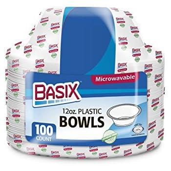 Amazon.com: Basix - Cuencos desechables para microondas ...