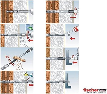 Thermax 8//80 M6, Glasfaserverst/ärkt, W/ärmeverbundsystem 20x Qualit/äts Abstandsmontagesystem
