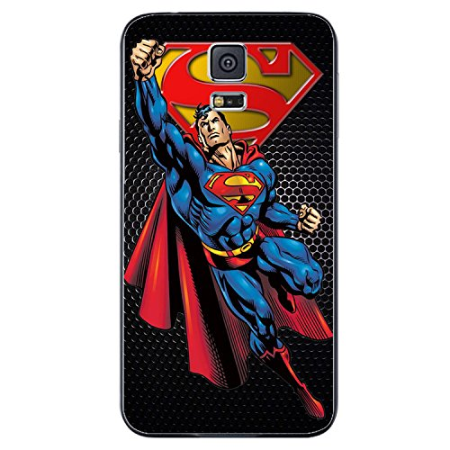 Best Superhero DC Comic (Superman Superhero) for Iphone and Samsung Galaxy Case (samsung s5 black)