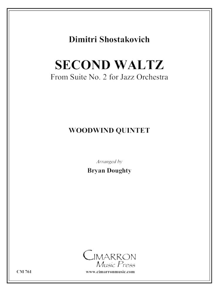 Amazon com: Second Waltz from Jazz Suite No  2 (0671203248560