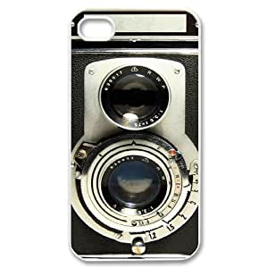 Vintage Camera Design Discount Personalized Hard Case Cover for iPhone 4,4S, Vintage Camera iPhone 4,4S Cover