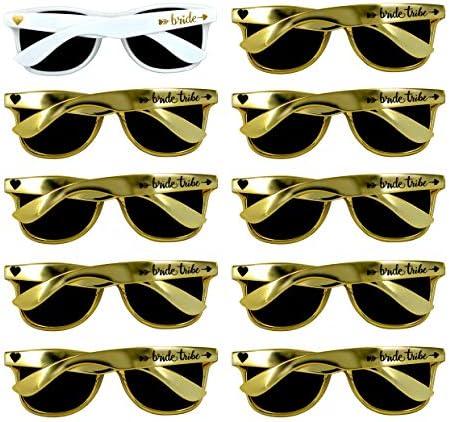Metallic Sunglasses Perfect Bachelorette Weddings product image
