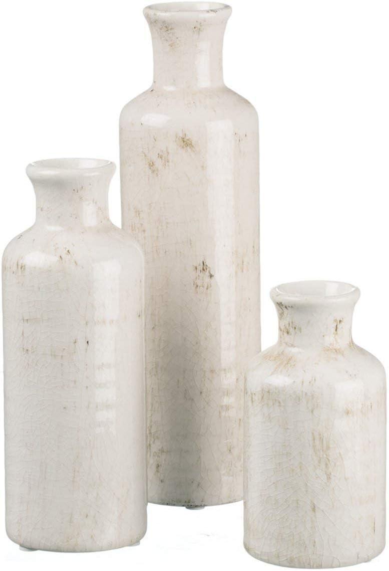 Sullivans Small White Vase Set