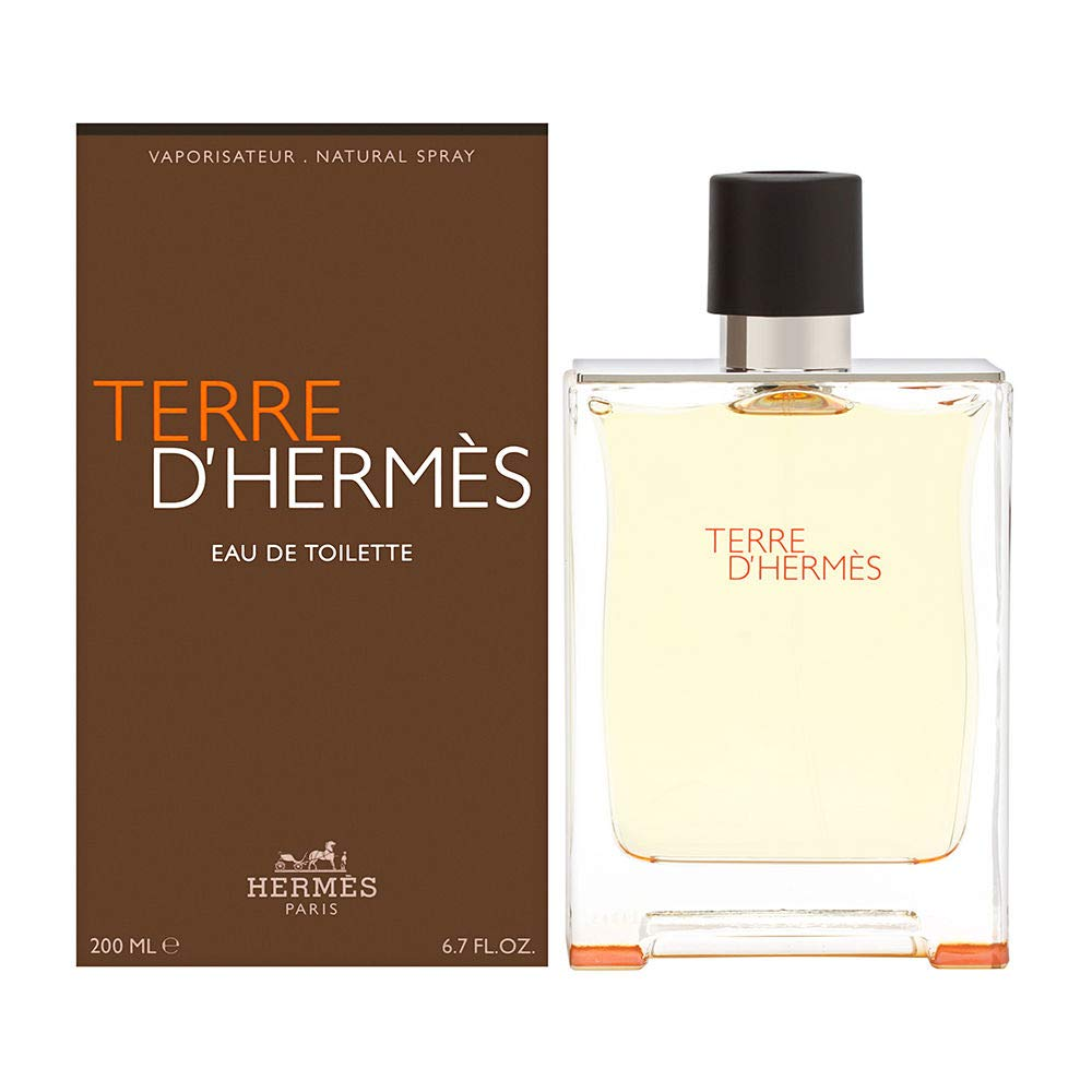 Terre D'Hermes by Hermes for Men 6.7 oz oz Eau de Toilette Spray
