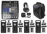 8 ch mixer - PRESONUS StudioLive AR8 8-Ch Live Sound/Studio Mixer+Backpack+Headphones+Mics