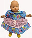 Mouse Print Dress Fits Baby And Cabbage Patch Kid Dolls