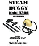 steam buggy - Steam Buggy EK8005 Manual: Steam Buggy EK8005 Manual Operating Instructions & Attachment Guide