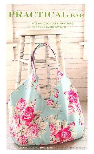 Amazon.com: Grand Revival Practical Bag Sewing Pattern Tanya Whelan