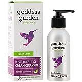 Goddess Garden Organics Fresh Start Gentle Cream Cleanser, 4 Ounce