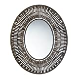Accent Plus Bathroom Mirrors For Wall, Antique Wall Mirror,faux Rattan Oblong Wall Mirror