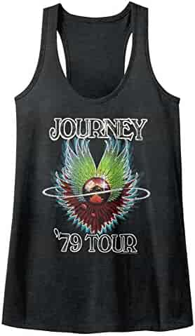 7ceef820 American Classics Journey Album Alien Guitar Cover Rock Band 1979 Tour  Womens Tank Top Shirt