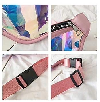 SANDIN Banane pour femme /à porter en ceinture ventrale ou en bandouli/ère sur l/'/épaule Bleu