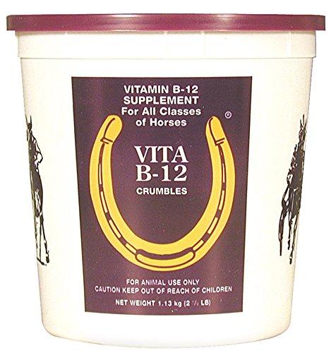 Horse Health Vita B-12 Crumbles Vitamin Supplement, 2.5 lbs