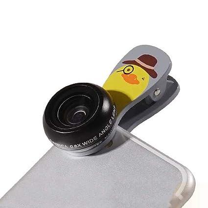 1c50c880e2e Iphone Lente De La Cámara Del Kit Con Clip De Dibujos Animados, Aluminio 0,6  X ...