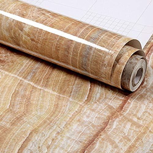 Tamoku 壁紙シール 大理石シート 壁紙 リメイクシート 防水 張り付け 壁紙 はがせる リフォーム補修 カッティングシート デコレーション 壁 シール 巾60cm×長さ5M