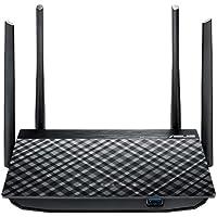 ASUS Dual-Band Wireless-AC1300 Gigabit Router,Mu-MIMO/USB 3.0, 4X Antenna
