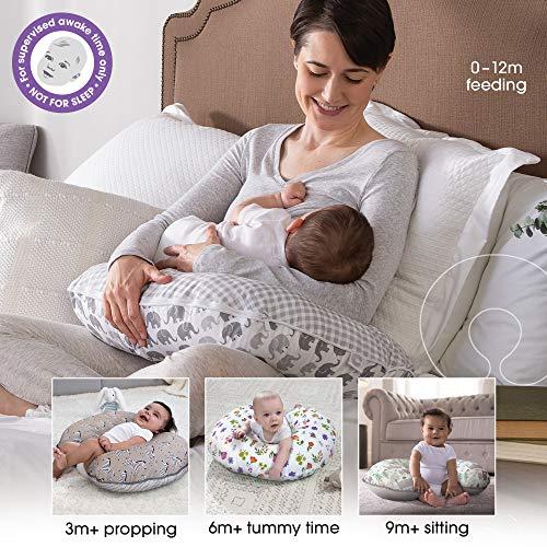 51YNlXQNZKL - Boppy Bare Naked Nursing Pillow And Positioner
