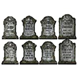 Halloween Tombstone Cutouts Assortment Pkg/4