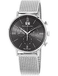 Eliros Men's Stainless Steel Grey Dial Swiss Chronograph Watch EL1088-SS002-811-1