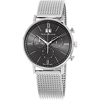Men's Steel Grey Strap Watch