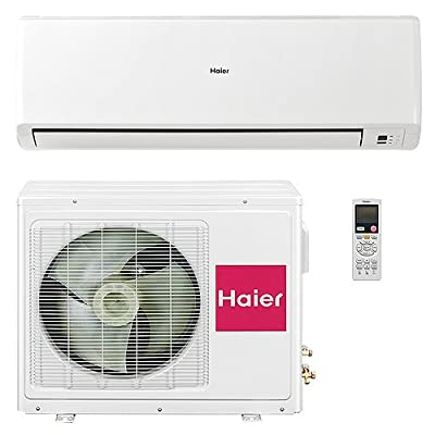 Haier Wall Mount Mini Split Inverter Air Conditioner w Heat Pump, 24000 BTU (2 Ton), 16 SEER 210-220 VAC