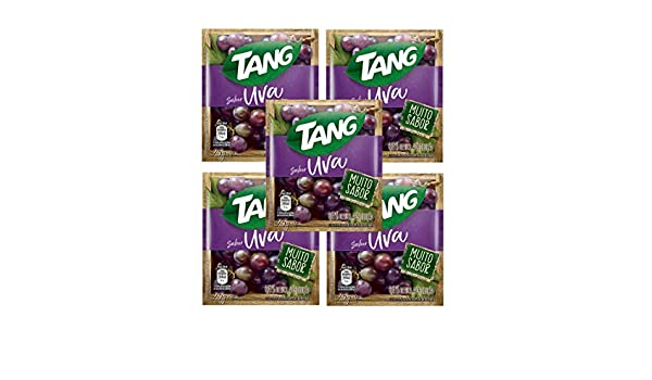 TANG Uva 25g | Powdered Drink Mix Grape 5 Pack: Amazon.com ...