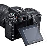 KIMILAR Glass Screen Protector Compatible Nikon D7500, 3 Packs Anti-Scratch...