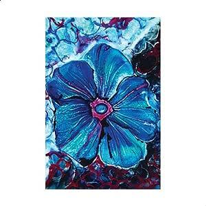Laser Printed Flower Wall Art - 120×100 cm