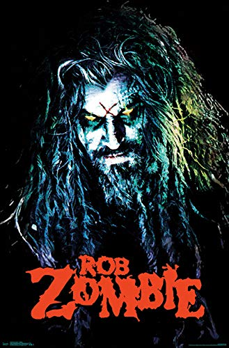 Trends International Rob Zombie - Hellbilly Wall Poster, 22.375