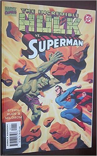 Amazon.com: Incredible Hulk Vs Superman (9780785107361): Roger Stern, Steve Rude, Allen Milgrom, Steve Oliff: Books