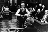#6: Paul Newman as Frank Galvin The Verdict 24x36 Poster in Courtroom With jury behind him