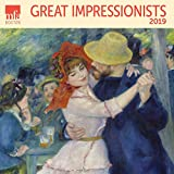 Great Impressionists MFA, Boston Wall Calendar 2019 Monthly January-December 12'' x 12''