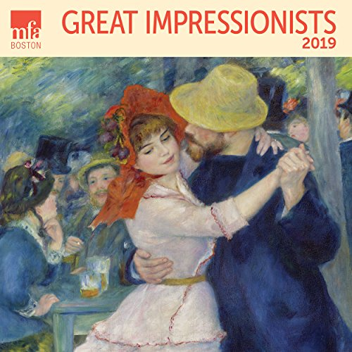 2020 Christmas Paintings - Great Impressionists MFA, Boston Wall Calendar 2019 Monthly January-December 12'' x 12