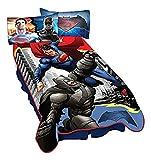 Warner Bros. Batman Vs Superman Heroes Dual Blanket, 62'' x 90''