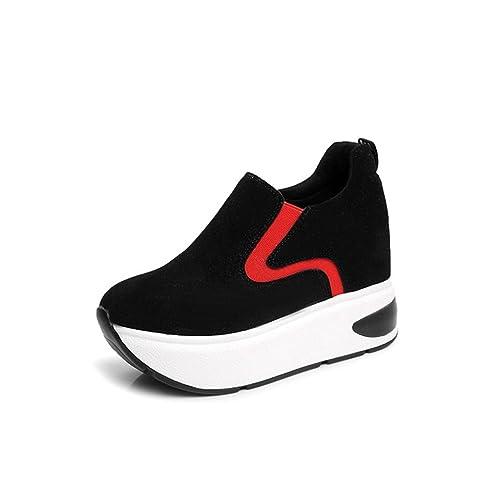 80548ff8 JITIAN - Zapatillas de Deportes de Exterior de Ante Mujer: Amazon.es:  Zapatos y complementos
