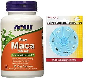 AHORA Maca 750 mg crudo, 90 cápsulas de Veg